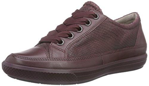 Ecco Ecco Dress Sneaker, Derbies à lacets femme Rouge - Rot (BORDEAUX/BORDEAUX)