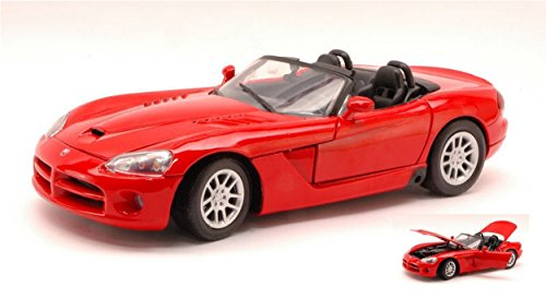 motormax-mtm73137rd-dodge-viper-srt-10-red-118-modellino-die-cast-model