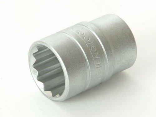 Teng M120517-C Regular Bi-Hexagon Socket 17mm 1//2in Square Drive