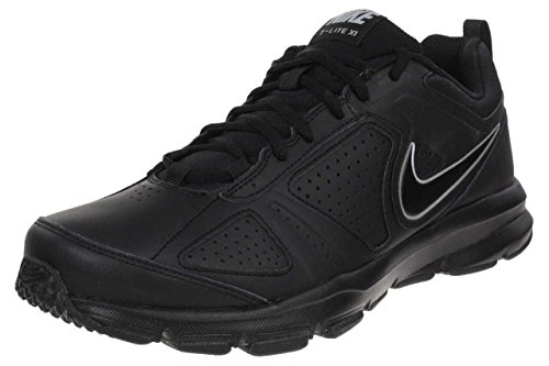 Nike T-Lite XI Herren Hallenschuhe Black/Black-Metallic Silver 007