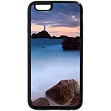 iPhone 6S / iPhone 6 Case (Black) corbiere lighthouse channel islands