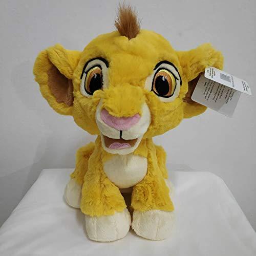 xuritaotao Original Cartoon Simba Der König Der Löwen Plüschtier, Junge Sinba Baby Lion Weiche Puppe Für Jungen Geschenk Sitzen 23 cm (König Der Löwen Puppe)