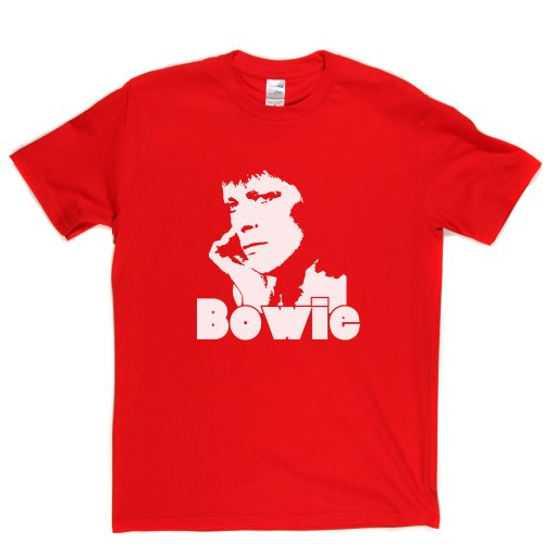 David Bowie 1 English Singer Space Oddity T-shirt Rot