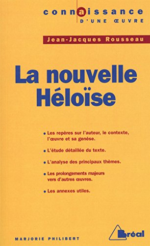 La Nouvelle Héloise, Jean-Jacques Rousseau par Marjorie Philibert
