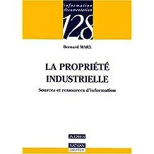 La propriété industrielle : Sources et ressources d'information