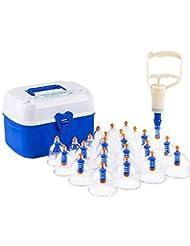 Machine à cuvette à vide 24 boîtes Échappement domestique Échappement à l'air Épaississement Magnéothérapie Masse de massage durable