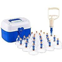QIAN Vacuum Cupping Machine 24 Latas Fugas de aire de escape del hogar Espasamiento Magnetoterapia Masaje duradero Cupping