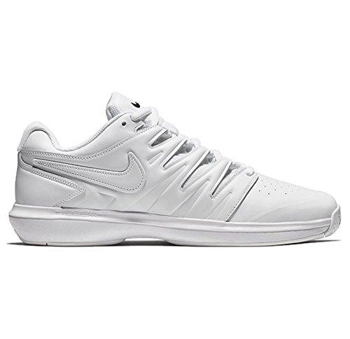 NIKE Air Zoom Prestige HC LTHR, Chaussures de Fitness Homme, Blanc (White/Black 100), 45.5 EU