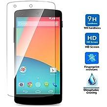 Protector de Pantalla para Google Nexus 5 D820 D821 Cristal Vidrio Templado Premium, Electrónica Rey®