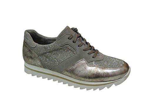 Donne Sneaker Gabor 63.301.62 torba platino Exchangeable 38 38.5 39 40, Damen Größen:38;Farben:grau