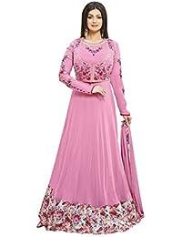 Vivaa Fashion Light Pink Georgette Designer Anarkali Suit VF23465