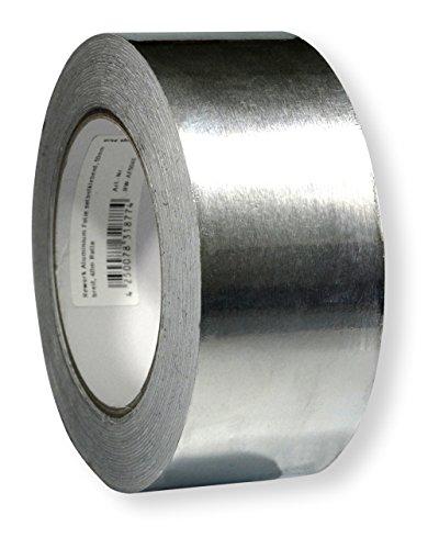 Preisvergleich Produktbild Scotle Aluminium-Folie selbstklebend 50 mm auf 40 m Rolle für Rework-Löten, RW-AF5040