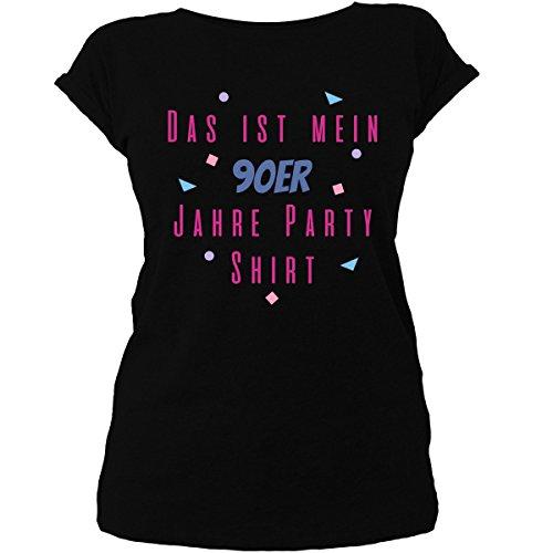 Shirtfun24 Damen Das ist Mein 90er Jahre Kostüm T-Shirt, schwarz, XL