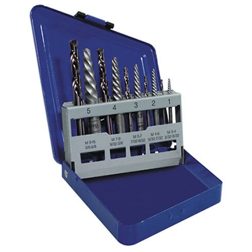 Irwin Hanson 3101010 48 Piece Master Extractor Kit With Cobalt Left Hand Bits