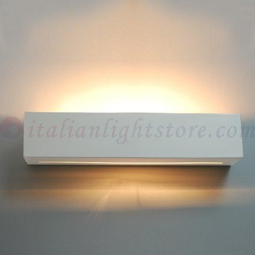 Applique Lampada A Parete Decorabile In Ceramica