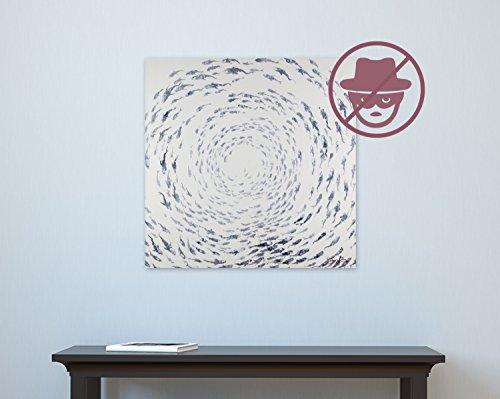 Un utile accessorio di KunstLoft® 'set antifurto per piccoli dipinti' | Comodo per acrilici e dipinti ad olio | Per appendere senza