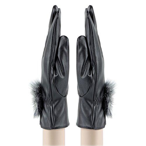 Womens Designer Winter Gloves in By Bonjour_RWW5Z14011C