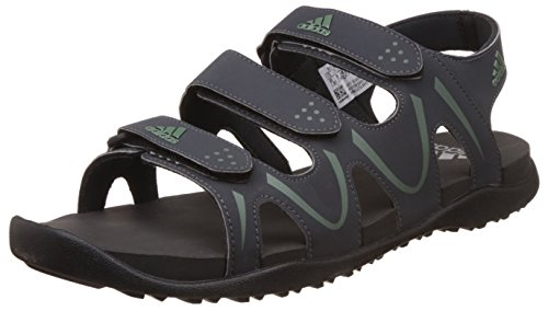 adidas Men's Bustel M Dkgrey, Tragrn and Cblack Athletic and Outdoor Sandals - 9 UK/India (43.33 EU) (BI4889)  available at amazon for Rs.2099