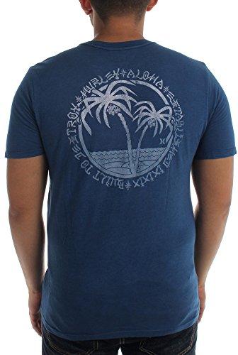 Hurley - Herren Bultdstryvtg Premium-T-Shirt Midnight Navy