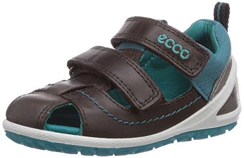 Ecco  LiteInfants, {Chaussures premiers pas pour bébé (garçon) Marron - Braun (SandalCoffee/Pagoda Blue58957)
