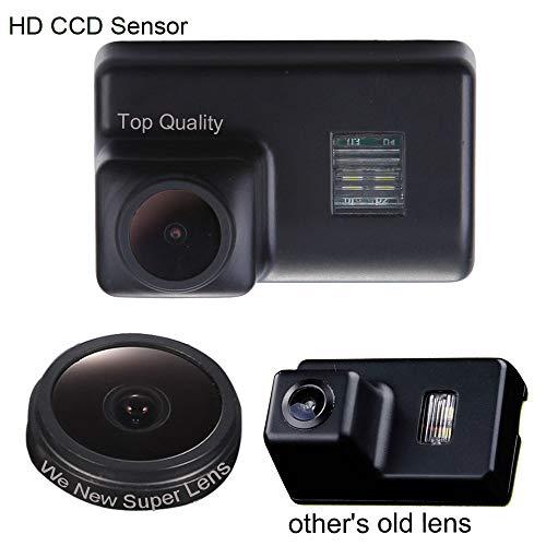 Kalakus Rückfahrkamera in Kennzeichenleuchte Einparkhilfe Fahrzeug-Spezifische Kamera in Nummernschild Licht für Peugeot 206/207/307/308/406/409/5D SW/5008/partner M59/B9/M49/Tepee(B9) -