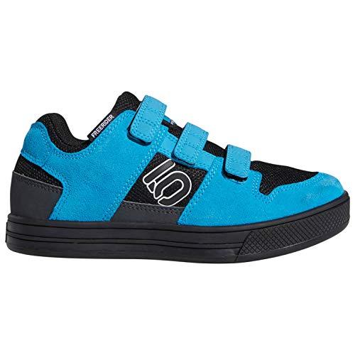 Five Ten Freerider VCS Shoes Kids core Black/FTWR White/Shock Cyan Schuhgröße EU 33 2019 Schuhe