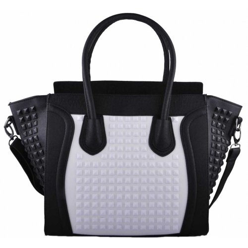 bags-purses-borsa-tote-donna-multicolore-black-white