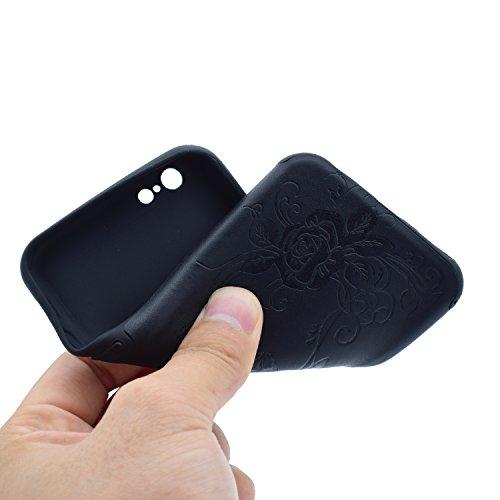 HLZDH Etui Coque TPU Slim Bumper pour Apple iPhone 6 plus/6S plus Souple Housse de Protection Flexible Soft Case Cas Couverture Anti Choc Haute Qualité Mince Légère Transparente Silicone Cover pour iP image-12