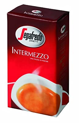 Segafredo Intermezzo Ground Coffee 8.8oz/250g X 4 by Segafredo