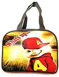 ESwaraa Lunch Bag For Kids, Boys Bag, Bag For Lunch For School Alvin Chipmunk Bag Cartoon Bag For Kids (Multi-color)