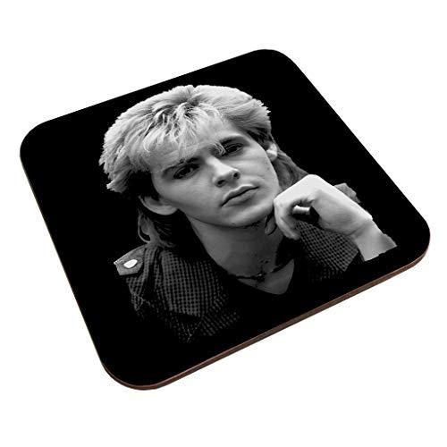 TV Times Duran Duran Nick Rhodes Portrait Coaster
