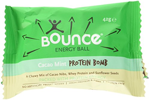 Bounce Protein Energy Ball Cacao Mint, 12er Pack (12 x 42 g) -