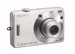Sony Cyber-shot DSC-W50 Digital Camera - Silver (6.0MP 3x Optical Zoom) 2.5'' LCD