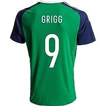 2016Nordirland 9wird Grigg Home Football Jersey in Grün