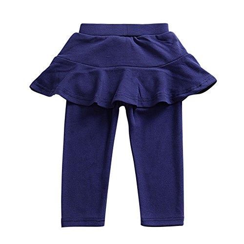 ESHOO Frühling Kinder Baby Mädchen Leggings Rüschen Rock Hosen Pantskirt 1-6 Jahre (Kleinkinder Footless Strumpfhosen)