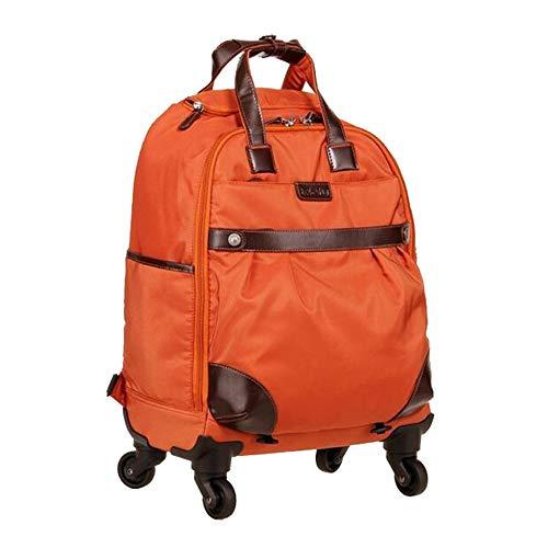 CYXYX Laptop-Rucksack, Trolley-Rucksack School Bookbag Für College-Reiserucksack Für 15,6-Zoll-Laptop Und Notebook,Orange