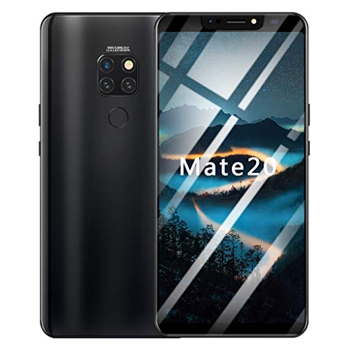 Smartphone, Jamicy ® 8 Cores 6,1 Zoll Sreen-Display, Dual-HD-Kamera, Kamera 500w + 1200w Android 8.1, IPS Full Screen, 1 G RAM + 16 GB ROM WiFi Bluetooth GPS 4G Call Handy (Schwarz)