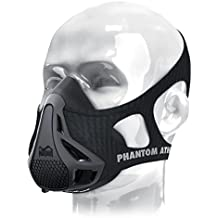 Phantom Athletics adultos Entrenamiento Máscara, unisex, Training Mask, negro, medium