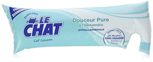 Le Chat - Gel Lavant - Douceur Pure à l'Hamamélis - Berlingot 250 ml - Lot de 6