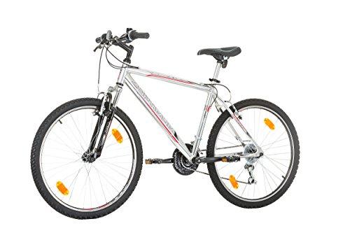 "410DQPucMwL - CoollooK OPTIMUM Bicycle 26"" MAN, mountain bike, ALLOY wheels 18 speed Shimano WHITE GLOSS"