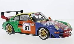 Unbekannt Porsche 911 (993) GT2, No.61, Krauss Race Sports Intl., 24h Le Mans, 1998, Modellauto, Fertigmodell, GT Spirit 1:18