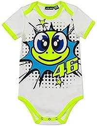 Valentino Rossi Pelele de Bebé Pop Art Blanco
