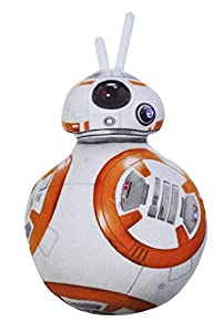 Daum - Pimp Up Your Life 15893 - Disney Star Wars Forma Cojín BB de 8, Peluche, 34 cm