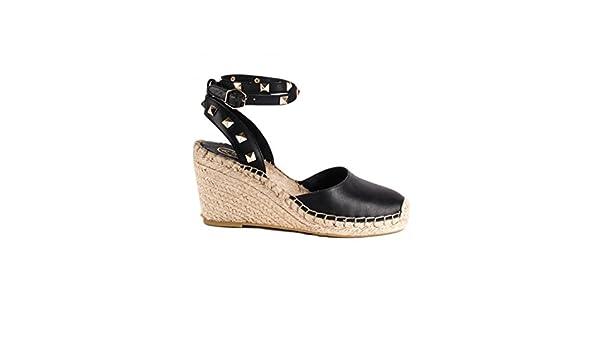 94fe6c8c820 Ash - Whitney Wedge Espadrille - Black, 37: Amazon.co.uk: Shoes & Bags