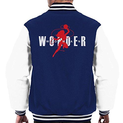 dan Logo Men's Varsity Jacket (Blau Jordan Varsity Jacke)