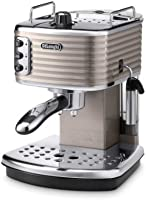 De'Longhi ECZ351.BG Scultura Traditional Pump Espresso Coffee Machine, 1100 W - Champagne