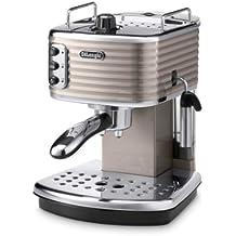 De'Longhi ECZ351.BG Scultura Macchina per caffè Espresso con pompa, Bronzo (1 Tazza Di Caffè In Cialde)