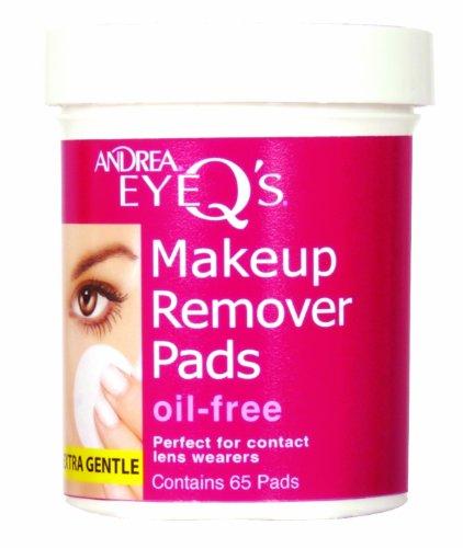 Andrea - Eye Q's Disques démaquillants Sans huile Blanc Lot de 65