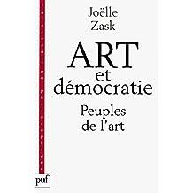 Art et démocratie: Les peuples de l'art