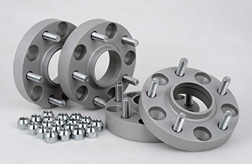 Spurverbreiterung Aluminium 4 Stück (20/30 mm pro Scheibe / 40/60 mm pro Achse) inkl. TÜV-Teilegutachten -